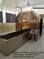 Equipo crematorio  de horno sin humo para humanos