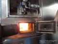 Máquina crematorio automático con rueda