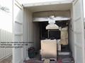 Máquina crematorio automático de móvil  para humanos