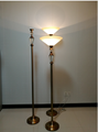 viewing torchiere lamps funeral home