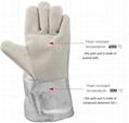 Operator protection gloves Crematoria