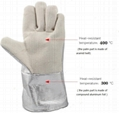 Operator protection gloves Crematoria use