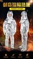 Aluminized suits Crematory