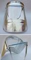 crematory handler heat resistant shield