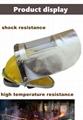 crematory operator protective mask