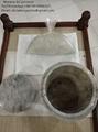 Procesador cremación de humanos restos cremados a cenizas