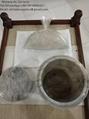 Chancadora eléctrico de humanos cenizas de cremación