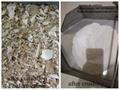 Para cremación de animales residuos cremados de triturador de cremación