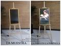 De 27 pulgadas de pantalla de retrato digital para funeraria