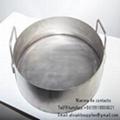 Sartén usado en crematorio para animales