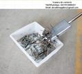 Barra magnética para eliminación de metal horno crematorio humano