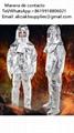 Chaqueta de aluminio reflectante Crematorio usado en alta temperatura