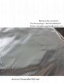 Delantal protector de calor usado en crematorio
