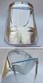 Máscara perador vidrio contra calor máquina cremación humana