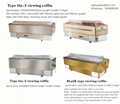 viewing coffin cooling function embalming free for funeral use stainless