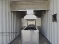 Human crematorium movable incinerator type for virus death maintenance free con