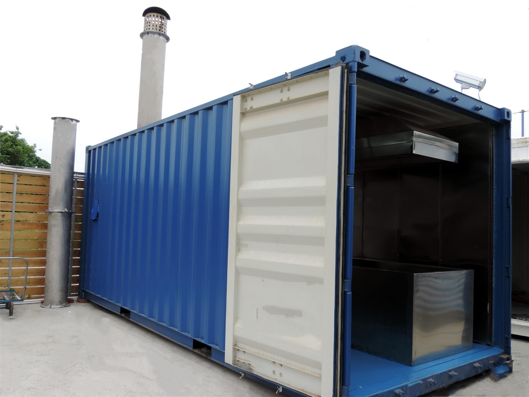sell human crematorium portable machine equipment fast buring crematory 3