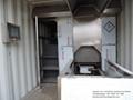 Human Crematorium Portable Container Machine Equipment Burner Incinerator