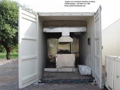 Movable Cremator Burn Bodies Human designed for Indonesia market
