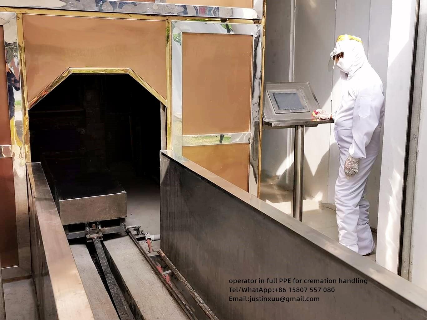 cremation equipment no smell no smoke designed virus death for Malaysia market