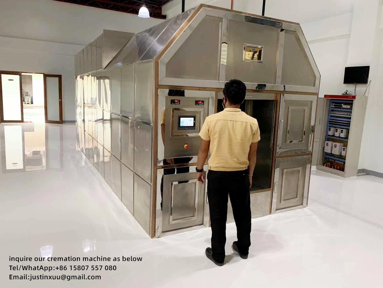 crematory furnace for sale negative pressure designed for Columbia market
