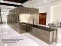 Equipo crematorio automático y humo sin