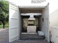 Máquina crematorio automático y humo sin