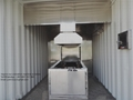 supply human cremator furnace crematorium designed for South Africa market