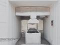 Máquina de horno de crematorio humanos para