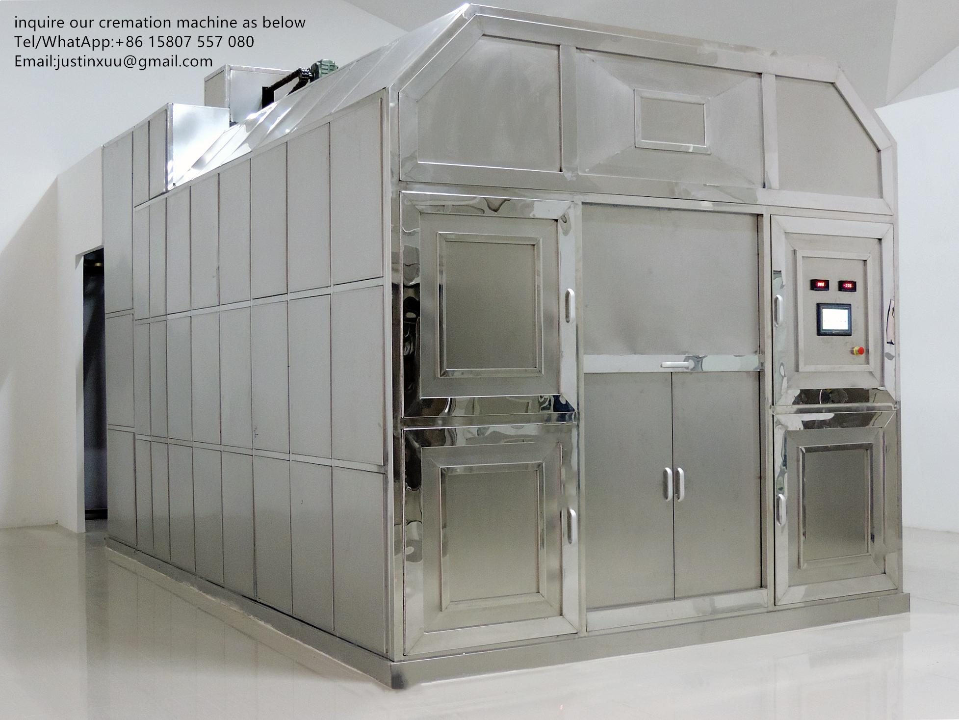 truck trailer crematorium machine emergency lorry designed for Russia market  6