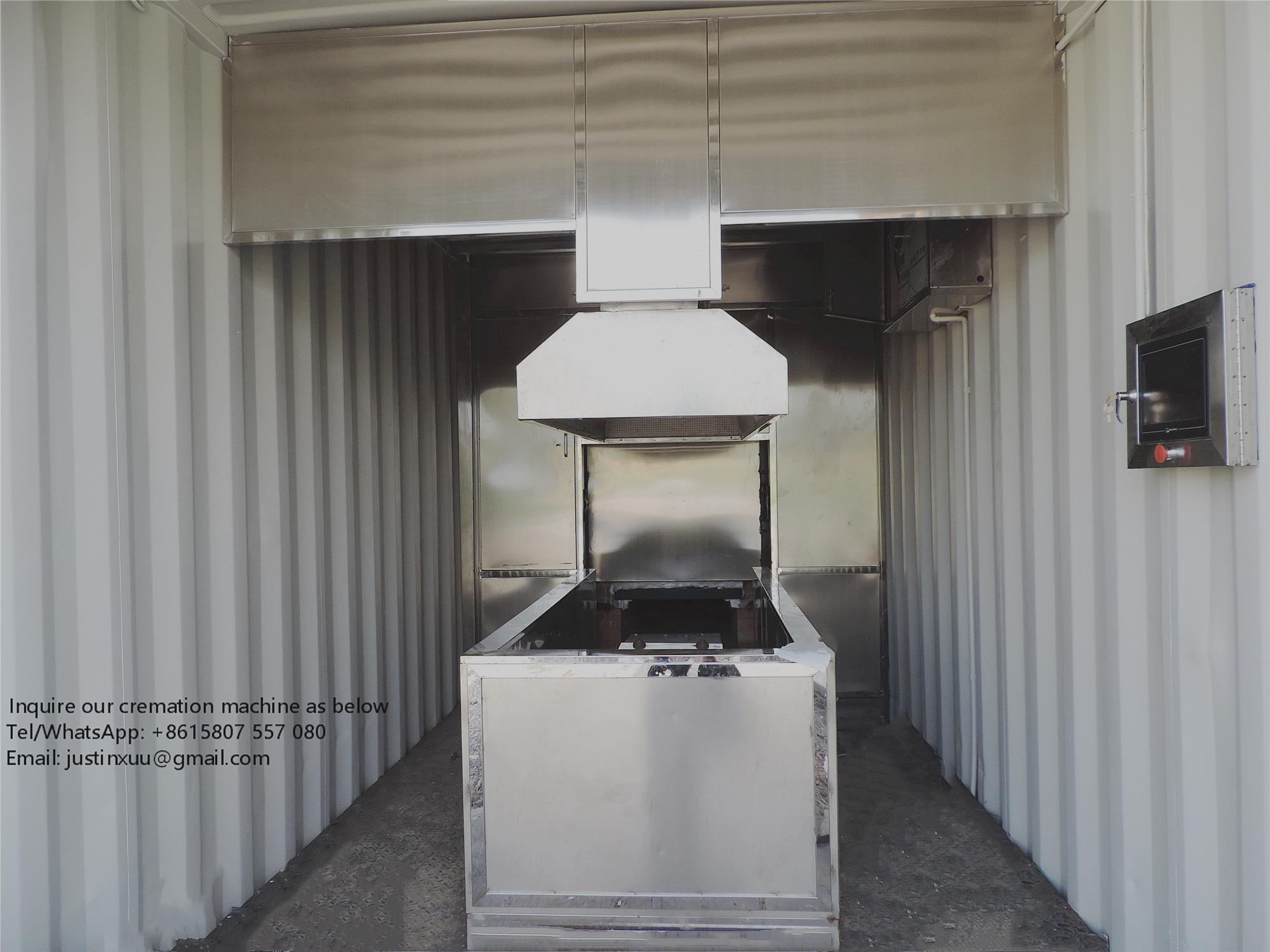 heavy duty durable human cremate machine china designed for Malaysia market 2