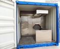 moving container furnaces for cremation designed human  for Malaysia market