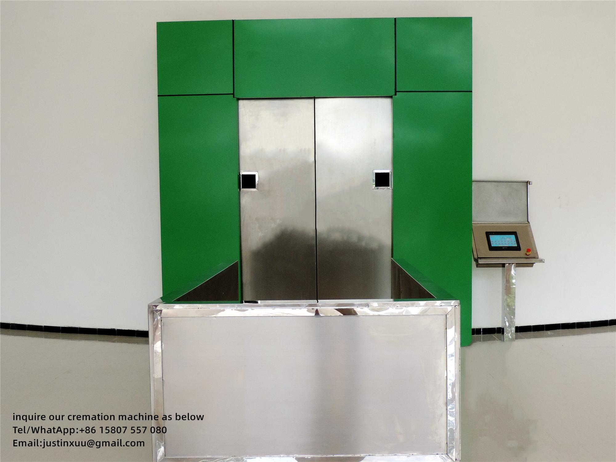 Sell incinerator container for cremation designed human for South Africa market  6