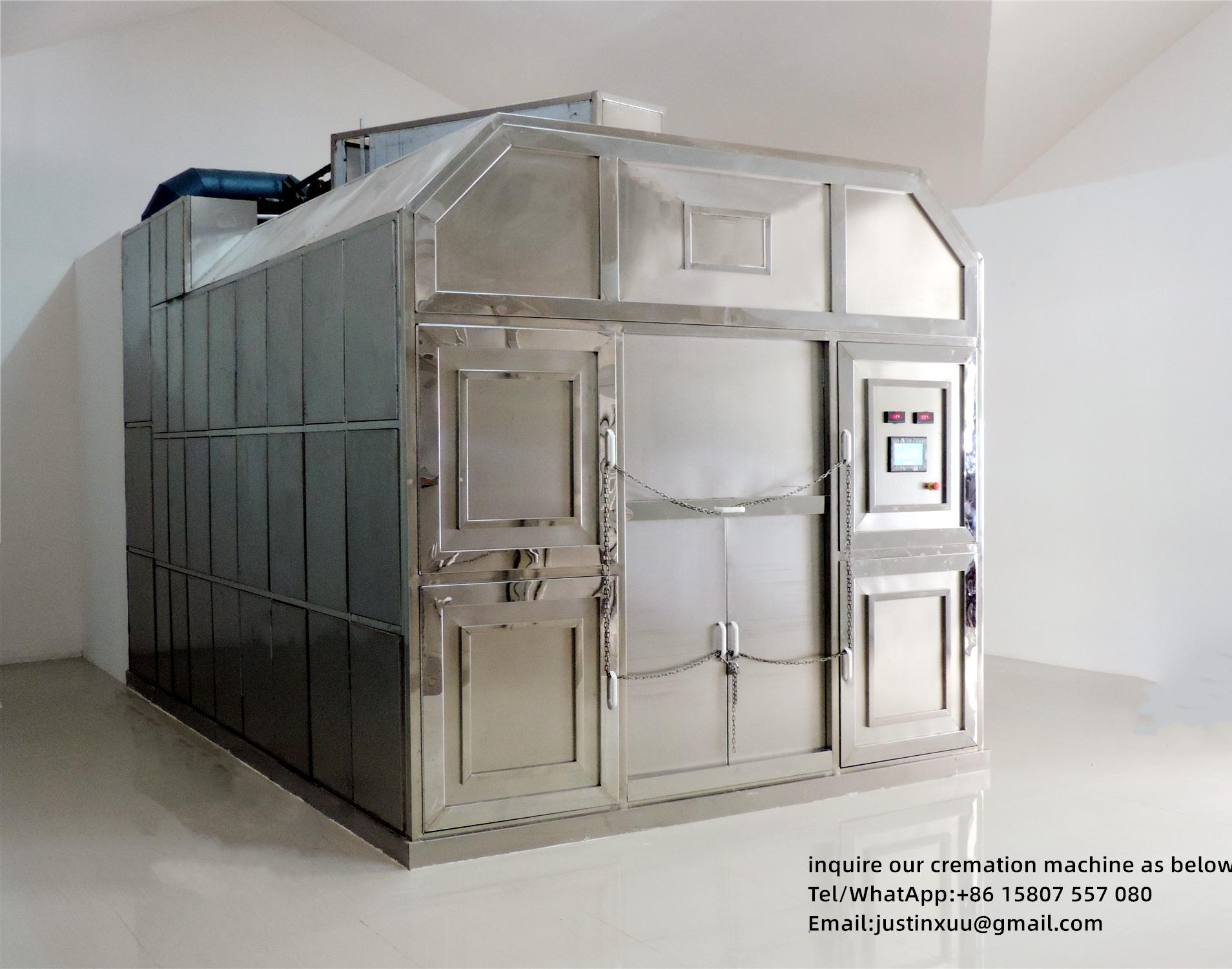Sell incinerator container for cremation designed human for South Africa market  7