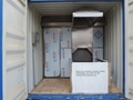 Container crematory system burn human death body designed for Russia market