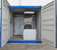Crematorium machine container human body burn designed for Phillipines market