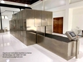 Human crematorium movable incinerator type for virus death designed for Malaysia
