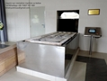 Movable Cremation Machine human crematory container designed for Russia market