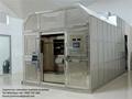 máquina crematorio horno de humano cuerpo