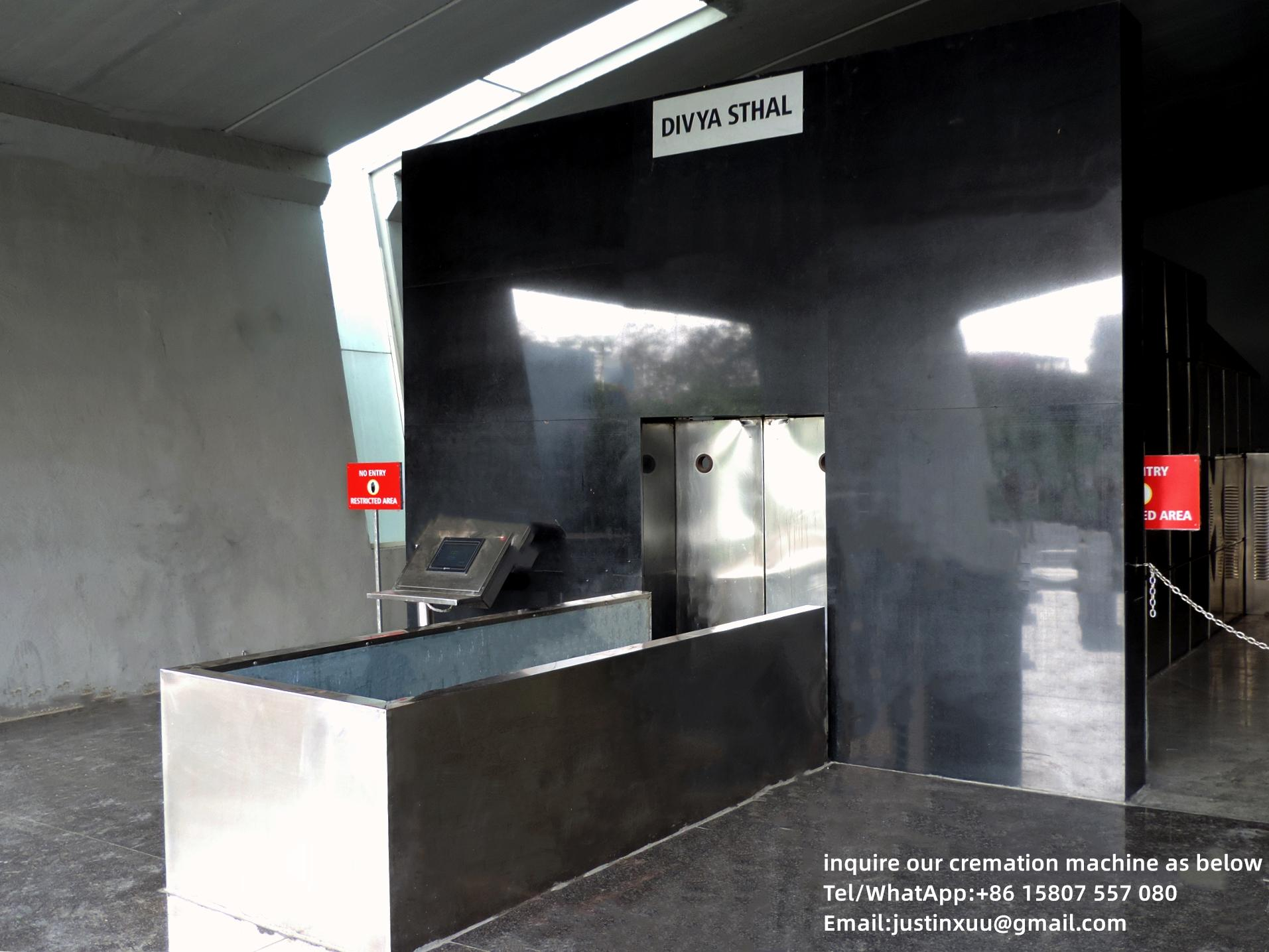 Equipo automático de horno a humanos crematorio para  4
