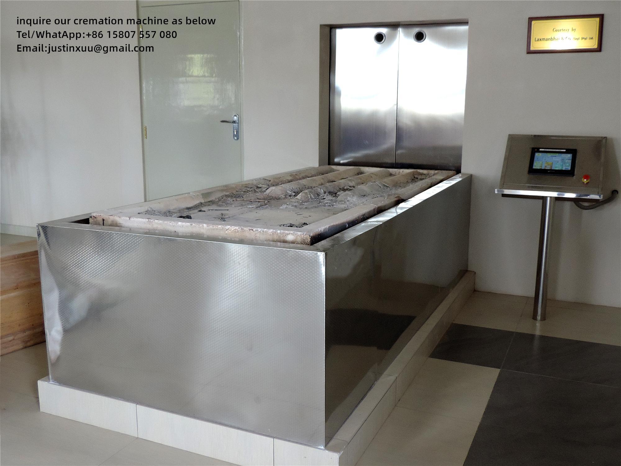 Equipo automático de horno a humanos crematorio para  6