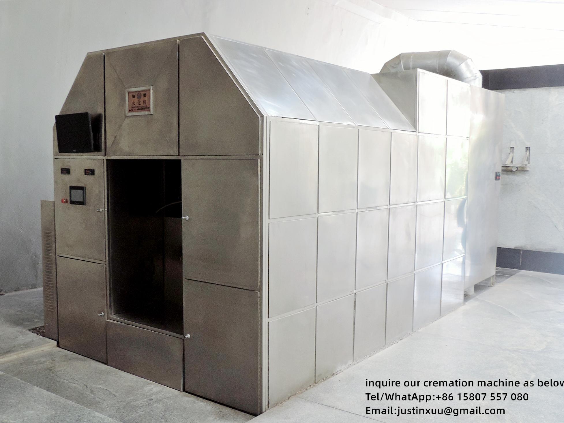 Equipo automático de horno a humanos crematorio para  7