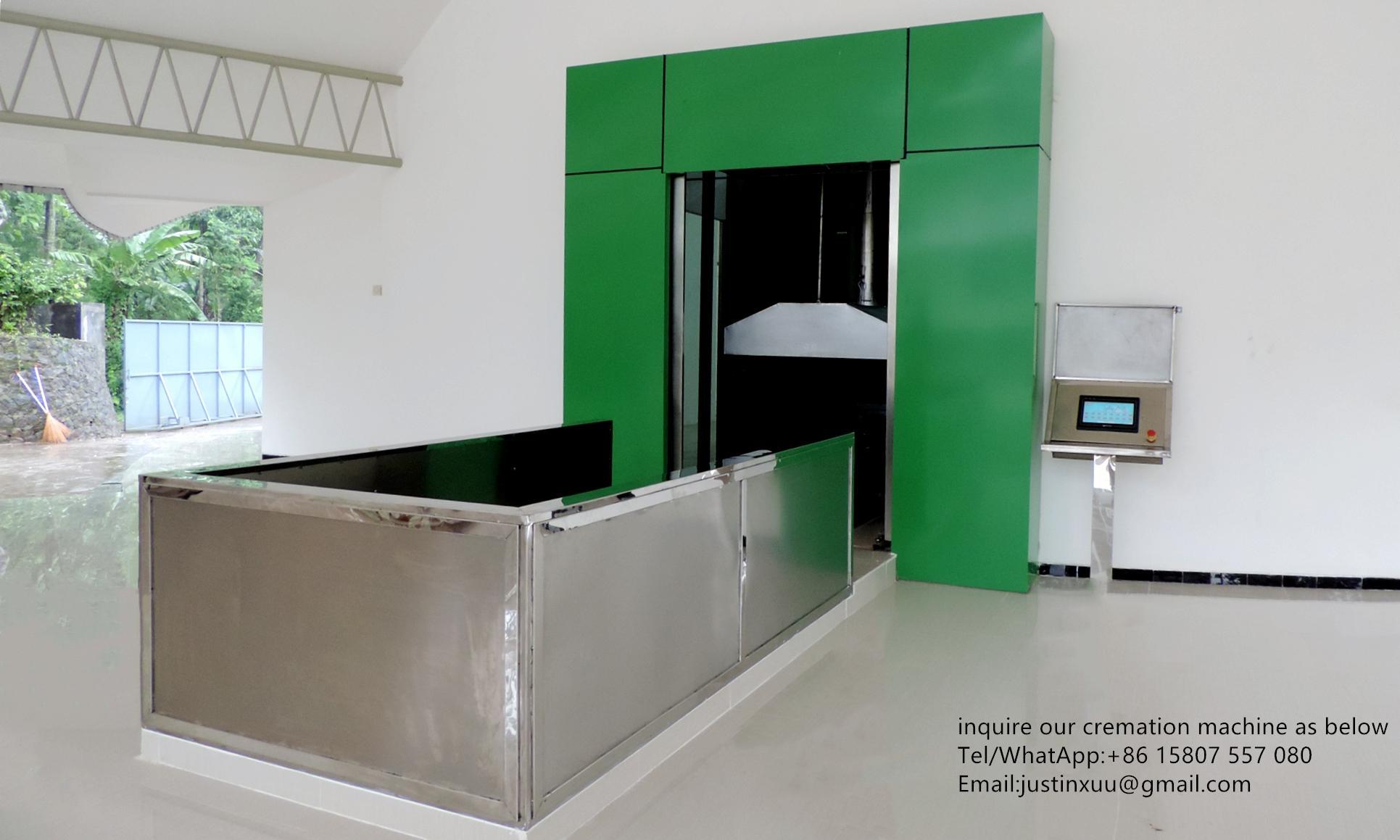 Equipo automático de horno a humanos crematorio para  10