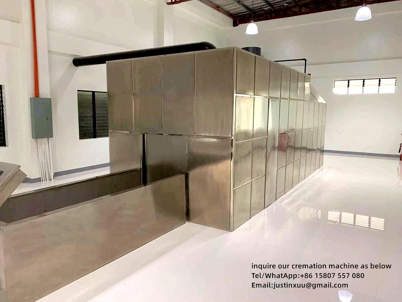 Máquina crematorio para el suministro de la venta de fábrica la  6