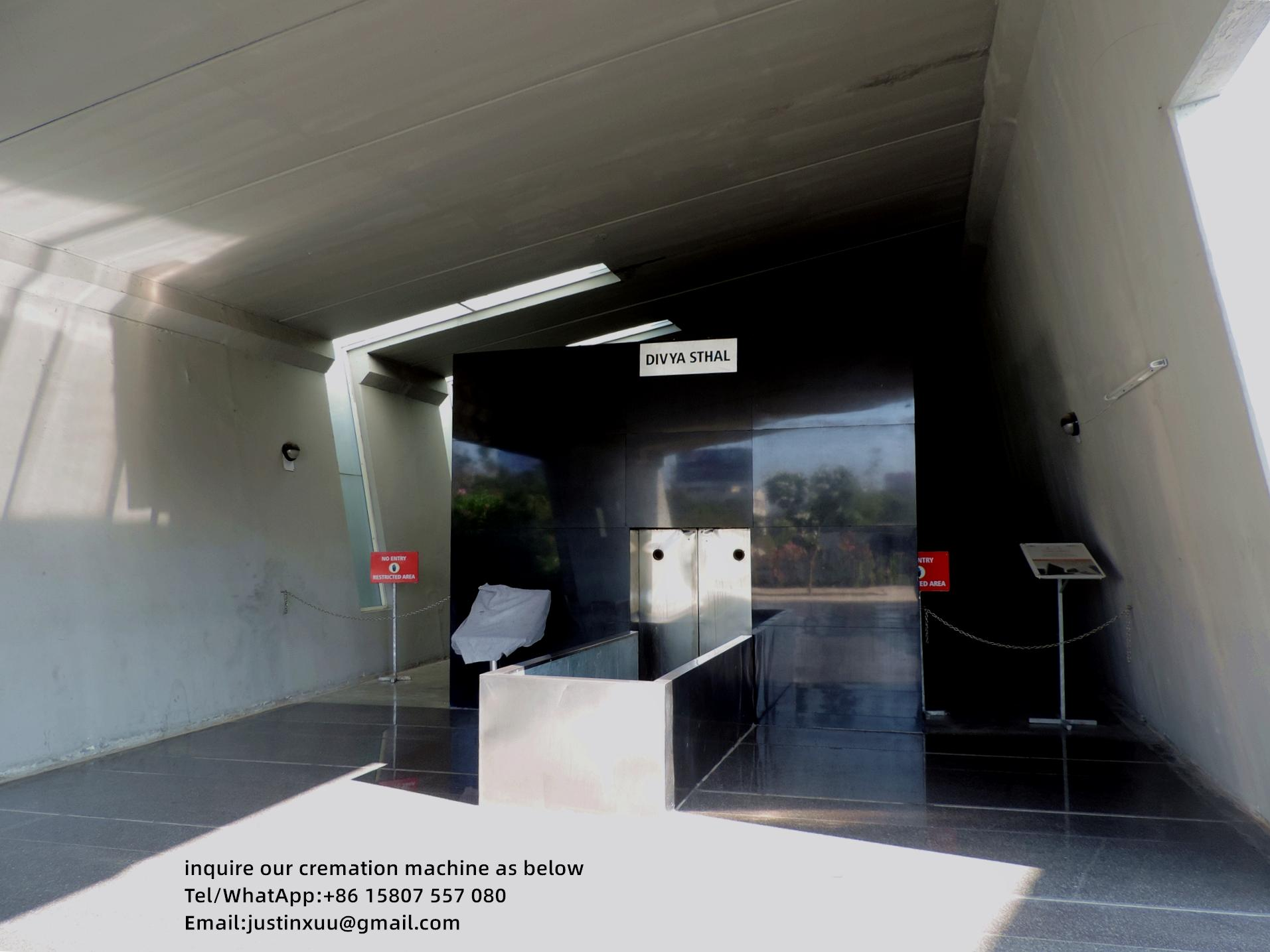 Máquina crematorio para el suministro de la venta de fábrica la  7