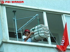 青岛便携式楼房吊运机升降机