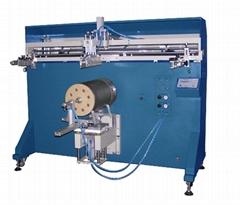 半自动胶桶铁桶印刷机