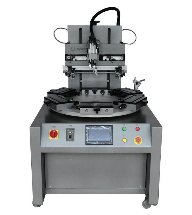 轉盤絲印機 1
