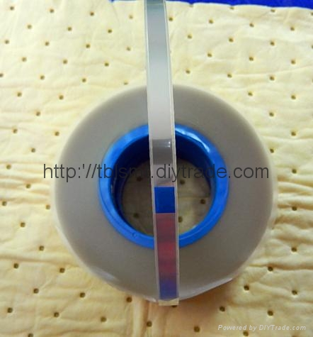 防静电透明自粘上带封料膜 1
