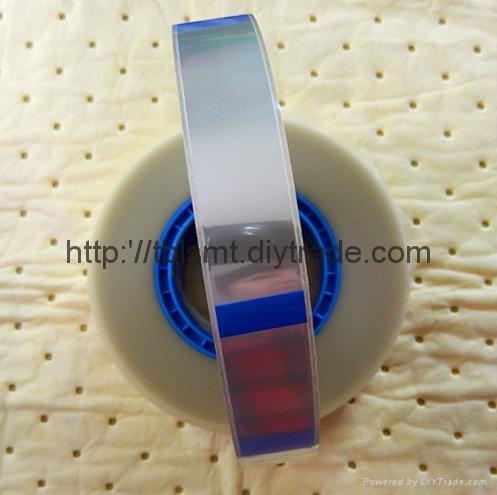 防静电透明自粘上带封料膜 5